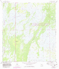 Deep Lake Florida Historical topographic map, 1:24000 scale, 7.5 X 7.5 Minute, Year 1959