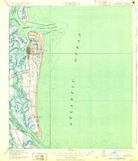 Fernandina Florida Historical topographic map, 1:62500 scale, 15 X 15 Minute, Year 1919