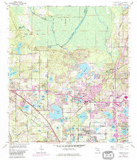 Forest City Florida Historical topographic map, 1:24000 scale, 7.5 X 7.5 Minute, Year 1959