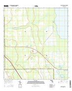 Fort Drum NE Florida Current topographic map, 1:24000 scale, 7.5 X 7.5 Minute, Year 2015 from Florida Map Store