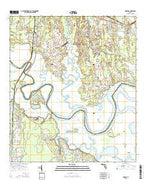 Hedges Florida Current topographic map, 1:24000 scale, 7.5 X 7.5 Minute, Year 2015 from Florida Map Store