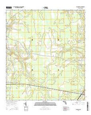 Hilliard SW Florida Current topographic map, 1:24000 scale, 7.5 X 7.5 Minute, Year 2015 from Florida Maps Store