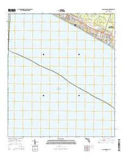 Laguna Beach Florida Current topographic map, 1:24000 scale, 7.5 X 7.5 Minute, Year 2015 from Florida Maps Store