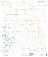 Lake Arbuckle NE Florida Historical topographic map, 1:24000 scale, 7.5 X 7.5 Minute, Year 1952