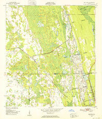 Maytown Florida Historical topographic map, 1:24000 scale, 7.5 X 7.5 Minute, Year 1950