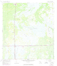 Miles City Florida Historical topographic map, 1:24000 scale, 7.5 X 7.5 Minute, Year 1959