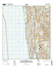 Naples North Florida Current topographic map, 1:24000 scale, 7.5 X 7.5 Minute, Year 2015 from Florida Maps Store