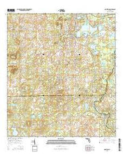 Nobleton Florida Current topographic map, 1:24000 scale, 7.5 X 7.5 Minute, Year 2015 from Florida Maps Store