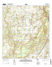 Nocatee Florida Current topographic map, 1:24000 scale, 7.5 X 7.5 Minute, Year 2015 from Florida Maps Store