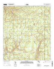 North of Allanton Florida Current topographic map, 1:24000 scale, 7.5 X 7.5 Minute, Year 2015 from Florida Maps Store