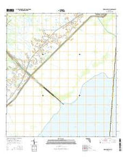 Okeechobee SW Florida Current topographic map, 1:24000 scale, 7.5 X 7.5 Minute, Year 2015 from Florida Maps Store