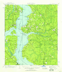 Orange Park Florida Historical topographic map, 1:62500 scale, 15 X 15 Minute, Year 1917