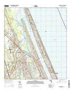 Ormond Beach Florida Current topographic map, 1:24000 scale, 7.5 X 7.5 Minute, Year 2015 from Florida Map Store