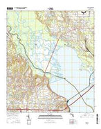 Pace Florida Current topographic map, 1:24000 scale, 7.5 X 7.5 Minute, Year 2015 from Florida Map Store