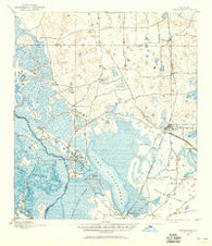 Panasoffkee Florida Historical topographic map, 1:62500 scale, 15 X 15 Minute, Year 1893