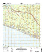Point Washington Florida Current topographic map, 1:24000 scale, 7.5 X 7.5 Minute, Year 2015 from Florida Maps Store