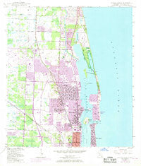 Riviera Beach Florida Historical topographic map, 1:24000 scale, 7.5 X 7.5 Minute, Year 1946