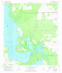 St. Johns Park Florida Historical topographic map, 1:24000 scale, 7.5 X 7.5 Minute, Year 1972