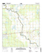 Titusville SW Florida Current topographic map, 1:24000 scale, 7.5 X 7.5 Minute, Year 2015 from Florida Maps Store