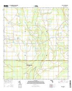 Venus SW Florida Current topographic map, 1:24000 scale, 7.5 X 7.5 Minute, Year 2015 from Florida Map Store