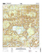 Vernon Florida Current topographic map, 1:24000 scale, 7.5 X 7.5 Minute, Year 2015 from Florida Map Store