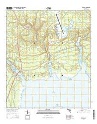 West Bay Florida Current topographic map, 1:24000 scale, 7.5 X 7.5 Minute, Year 2015
