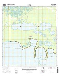 West Lake Florida Current topographic map, 1:24000 scale, 7.5 X 7.5 Minute, Year 2015