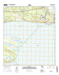 West Pass Florida Current topographic map, 1:24000 scale, 7.5 X 7.5 Minute, Year 2015