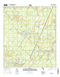White City Florida Current topographic map, 1:24000 scale, 7.5 X 7.5 Minute, Year 2015