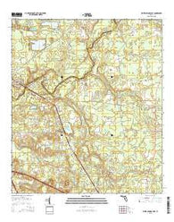 White Springs East Florida Current topographic map, 1:24000 scale, 7.5 X 7.5 Minute, Year 2015