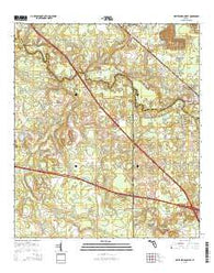 White Springs West Florida Current topographic map, 1:24000 scale, 7.5 X 7.5 Minute, Year 2015