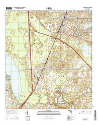 Wildwood Florida Current topographic map, 1:24000 scale, 7.5 X 7.5 Minute, Year 2015