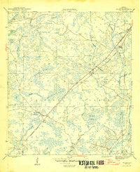Wilma Florida Historical topographic map, 1:31680 scale, 7.5 X 7.5 Minute, Year 1946
