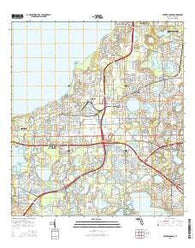 Winter Garden Florida Current topographic map, 1:24000 scale, 7.5 X 7.5 Minute, Year 2015