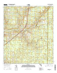 Youngstown Florida Current topographic map, 1:24000 scale, 7.5 X 7.5 Minute, Year 2015