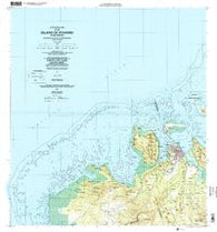 Island Of Pohnpei (Northwest) Federated States of Micronesia Historical topographic map, 1:25000 scale, 7.5 X 7.5 Minute, Year 2001