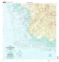 Island Of Pohnpei (Southwest) Federated States of Micronesia Historical topographic map, 1:25000 scale, 7.5 X 7.5 Minute, Year 2001