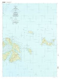 Tol Federated States of Micronesia Historical topographic map, 1:25000 scale, 7.5 X 7.5 Minute, Year 1997