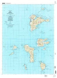 Weno Federated States of Micronesia Historical topographic map, 1:25000 scale, 7.5 X 7.5 Minute, Year 1997