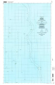 Wonno Federated States of Micronesia Historical topographic map, 1:25000 scale, 7.5 X 7.5 Minute, Year 1997