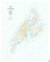 Yap Islands (Waqab) Federated States of Micronesia Historical topographic map, 1:25000 scale, 7.5 X 7.5 Minute, Year 1983