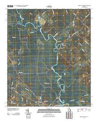Abbeville North Georgia Historical topographic map, 1:24000 scale, 7.5 X 7.5 Minute, Year 2011