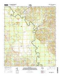 Abbeville North Georgia Current topographic map, 1:24000 scale, 7.5 X 7.5 Minute, Year 2014