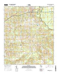 Abbeville South Georgia Current topographic map, 1:24000 scale, 7.5 X 7.5 Minute, Year 2014