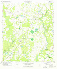 Albany NE Georgia Historical topographic map, 1:24000 scale, 7.5 X 7.5 Minute, Year 1973