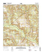 Avondale Georgia Current topographic map, 1:24000 scale, 7.5 X 7.5 Minute, Year 2014 from Georgia Map Store