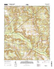 Avondale Georgia Current topographic map, 1:24000 scale, 7.5 X 7.5 Minute, Year 2014 from Georgia Maps Store