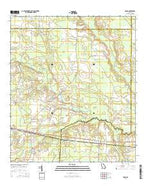 Axson Georgia Current topographic map, 1:24000 scale, 7.5 X 7.5 Minute, Year 2014 from Georgia Map Store