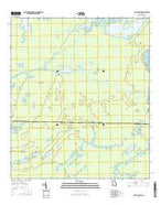 Billys Island Georgia Current topographic map, 1:24000 scale, 7.5 X 7.5 Minute, Year 2014 from Georgia Map Store