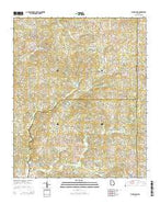 Birmingham Georgia Current topographic map, 1:24000 scale, 7.5 X 7.5 Minute, Year 2014 from Georgia Map Store